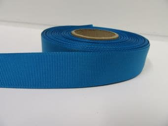 Dark Turquoise Peacock Blue Grosgrain ribbon Ribbed Double sided, 3mm, 6mm 10mm 16mm 22mm 38mm 50mm